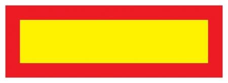 Знак безопасности длинномер, 200x600 мм, с/в пленка  Технотерра