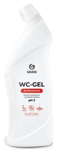 Профхим сантех кисл гель для очистки минерал.отлож Grass/wc-gel Prof, 0,75л  Grass