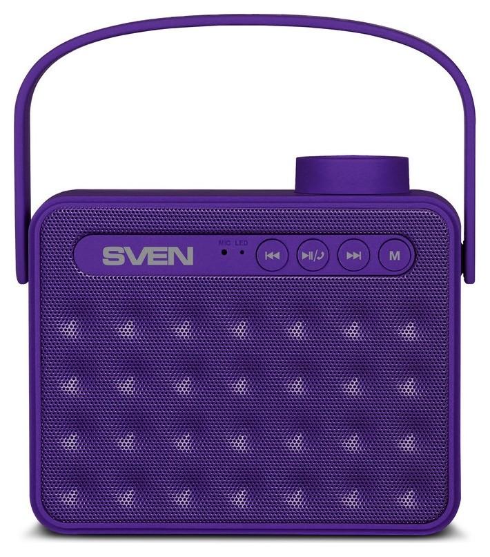 Акустическая система Sven Ps-72, фиолетовый  Sven