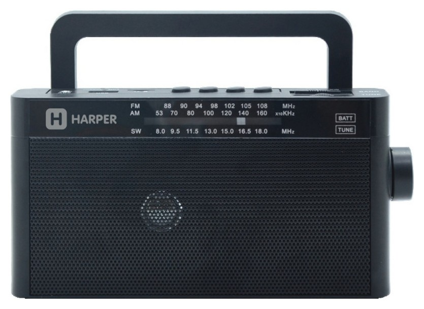Радиоприемник Harper Hdrs-377 чёрный  Harper