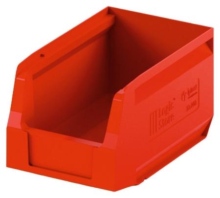 Лоток для склада Logic Store 250х150х130 красный (12.402) I plast
