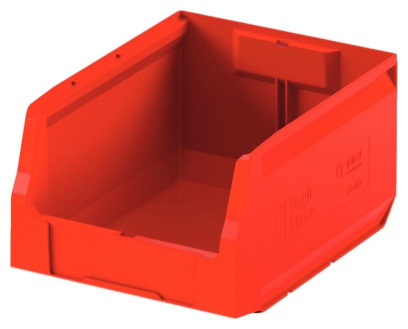 Лоток для склада Logic Store 300х225х150 красный (12.412)  I plast