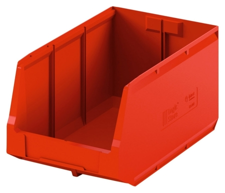 Лоток для склада Logic Store 500х300х250 красный (12.407) I plast