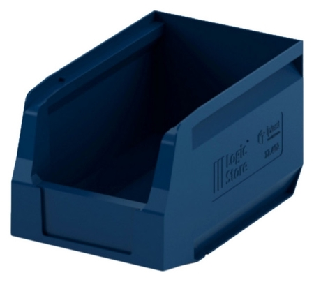 Лоток для склада Logic Store 250х150х130 синий (12.402)  I plast