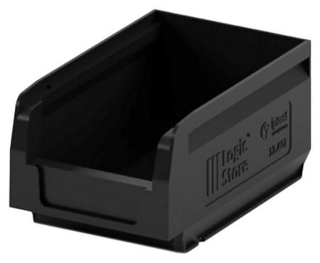 Лоток для склада Logic Store 165х100х75 черный (12.401)  I plast