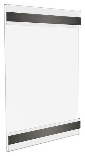 Держатель для ценников вертикальный на магнитах А6, 10шт/уп  NNB