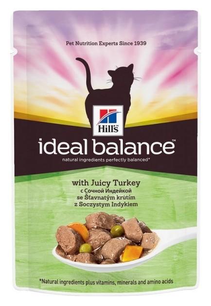 Корм Hill?s IB пауч .для кошек (Индейка/овощи) 85грx12 10024  Hill's