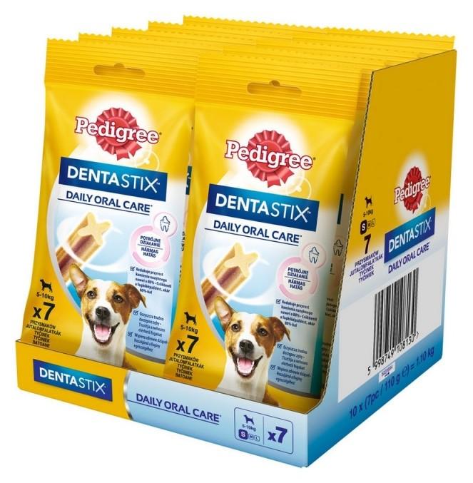 Лакомство для собак мелких пород Pedigree Dentastix, 110гx10  Pedigree