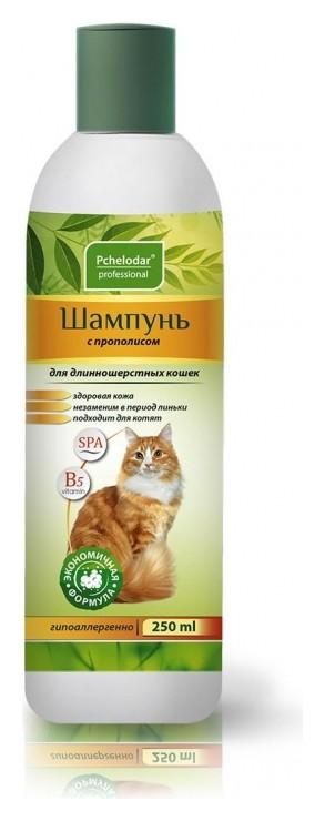 Шампунь пчелодар с прополисом для длинношерстных кошек 250мл4607145631432  Пчелодар