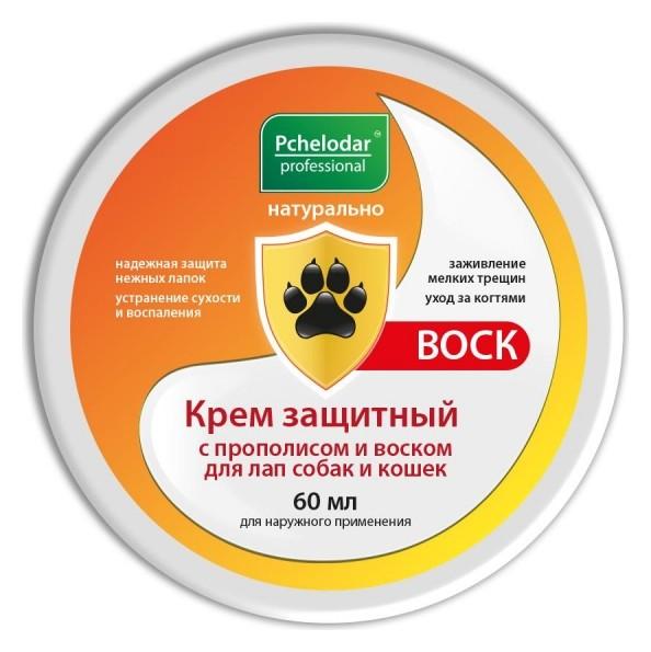 Крем защитный пчелодар с прополисом и воском для лап 60г 4607145634730  Пчелодар