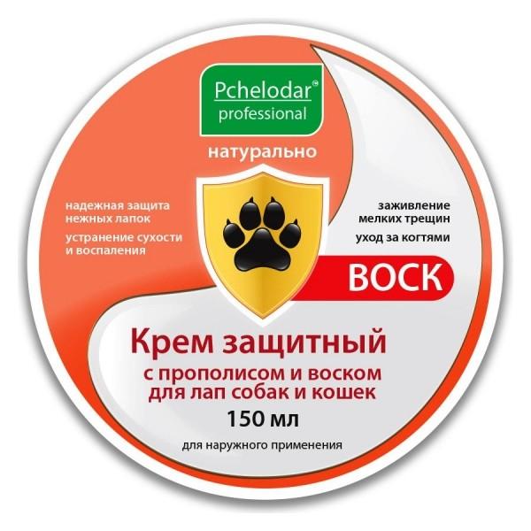 Крем защитный пчелодар с прополисом и воском для лап 150г 4607145633931  Пчелодар