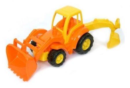 Трактор с лопатой и ковшом Чемпион   Полесье