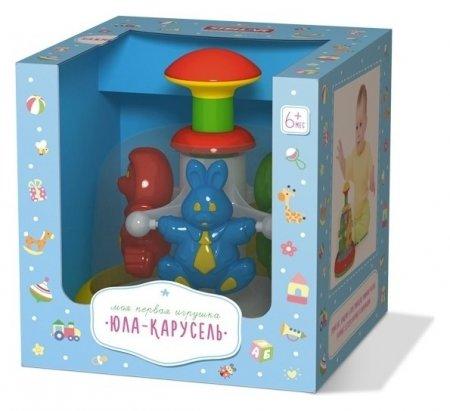 Юла-карусель Моя первая игрушка Стеллар