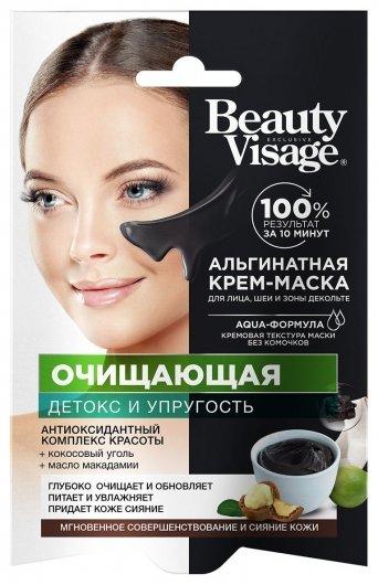 Крем-маска для лица, шеи и зоны декольте Альгинатная очищающая  Фитокосметик