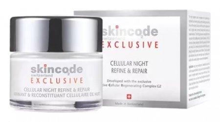 Крем ночной клеточный интенсивный восстанавливающий   Skincode