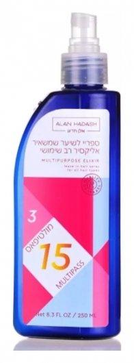 Спрей для волос многофункциональный 15 в 1 Multipass Elixir  Alan Hadash