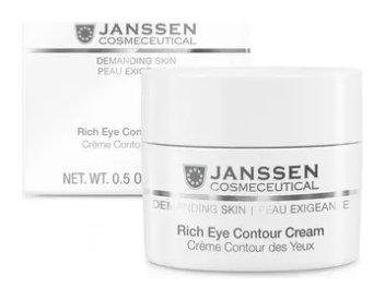 Крем питательный для кожи вокруг глаз Rich Eye Contour Cream  Janssen Cosmetics