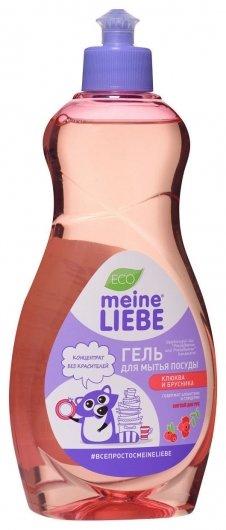 Гель для мытья посуды Клюква и брусника  Meine Liebe