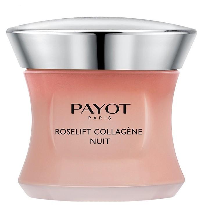 Ночной крем для лица с пептидами Roselift Collagene  Payot