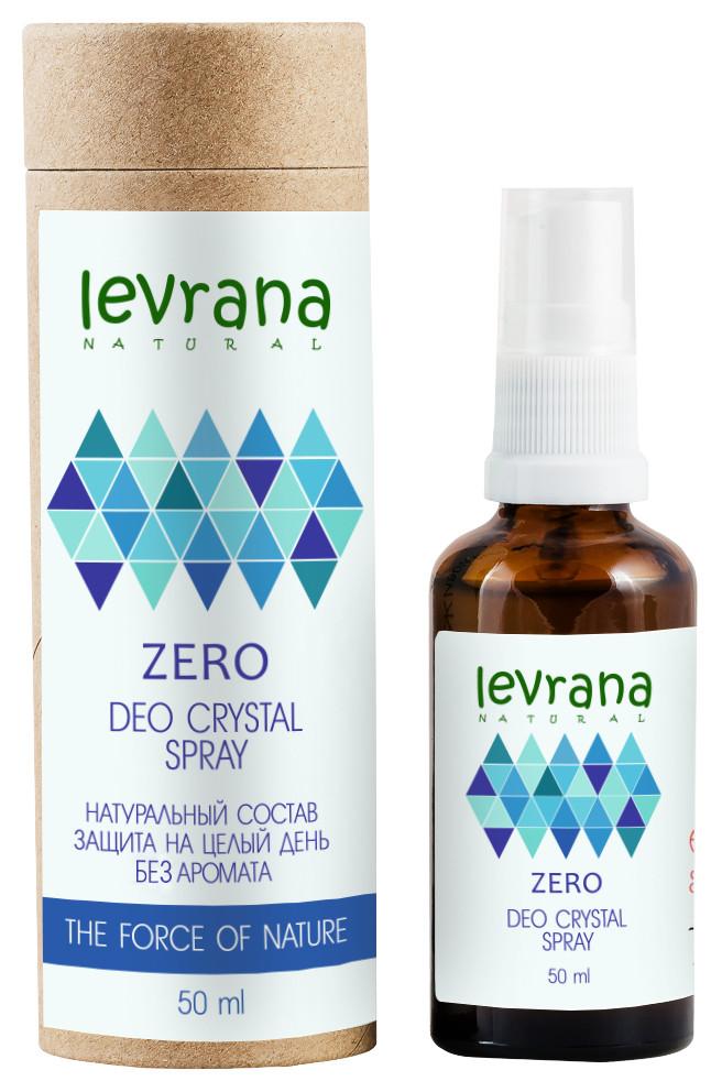 Дезодорант «ZERO» без аромата  Levrana