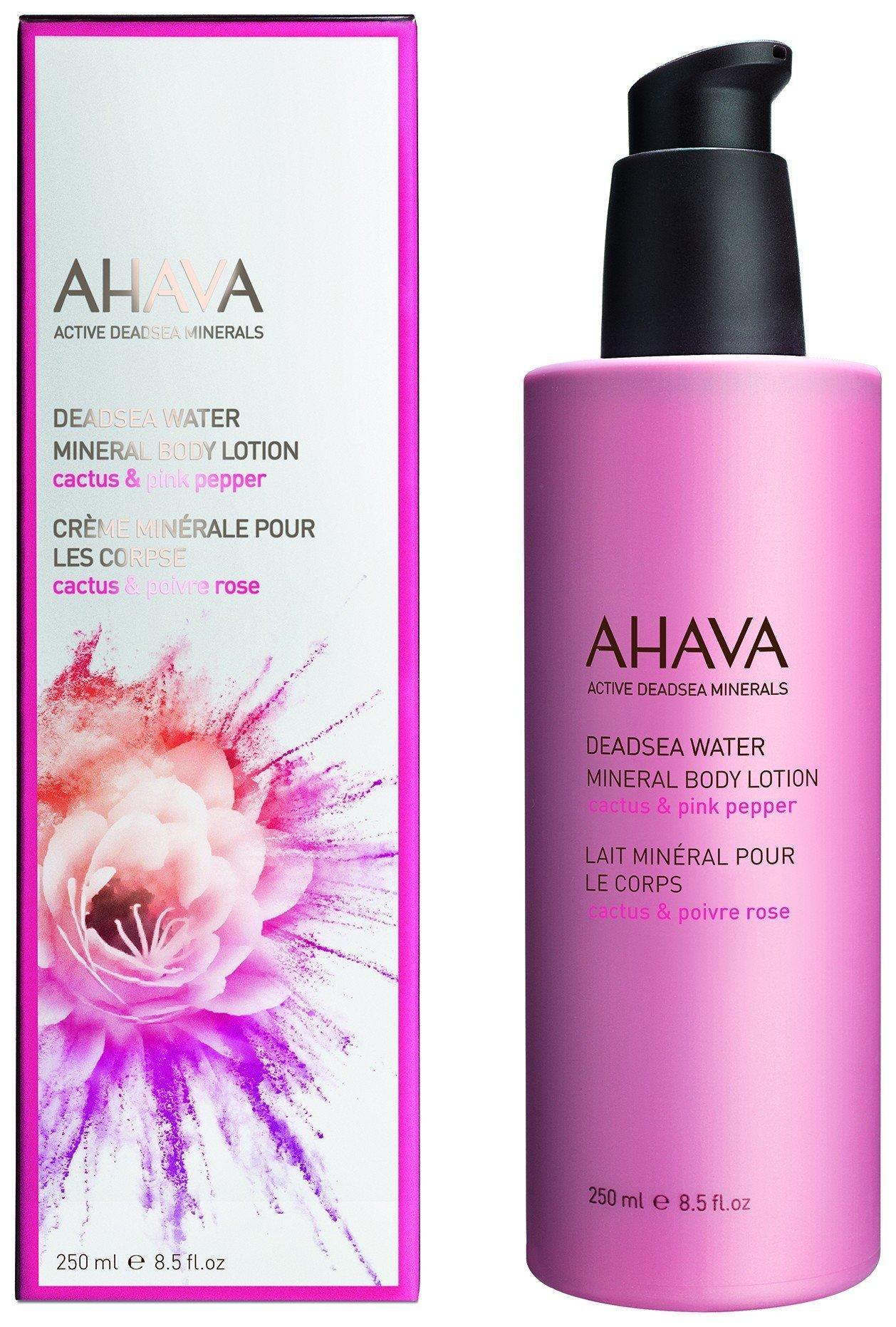 Минеральный крем для тела Кактус и розовый перец  Ahava