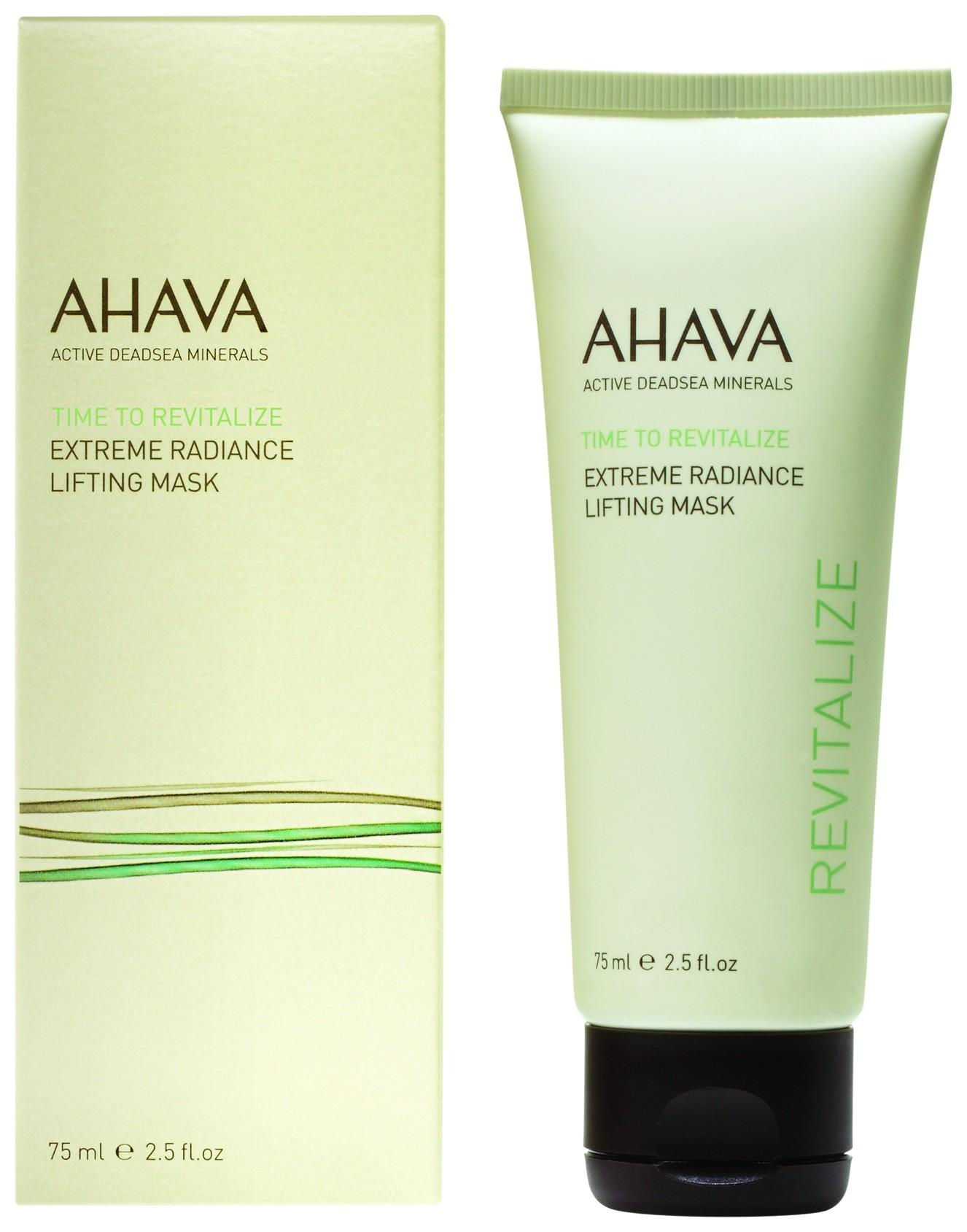 Маска для подтяжки кожи лица с эффектом сияния Extreme Time To Revitalize  Ahava
