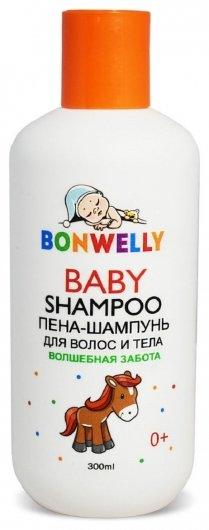 Пена-шампунь для волос и тела Волшебная забота  Bonwelly