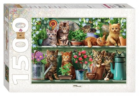 Пазлы 1500 элементов Котята Step puzzle Art Collection
