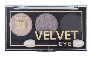 Компактные тени для век Velvet Eyes  Белита - Витекс