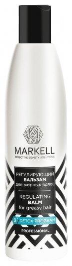 Регулирующий бальзам для жирных волос  Markell