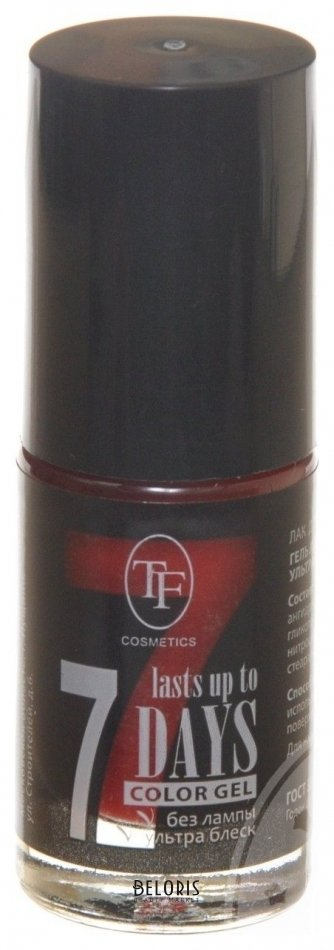 Купить Гель лак для ногтей Триумф, Лак для ногтей Color gel , Китай, Тон 245 темно-красный