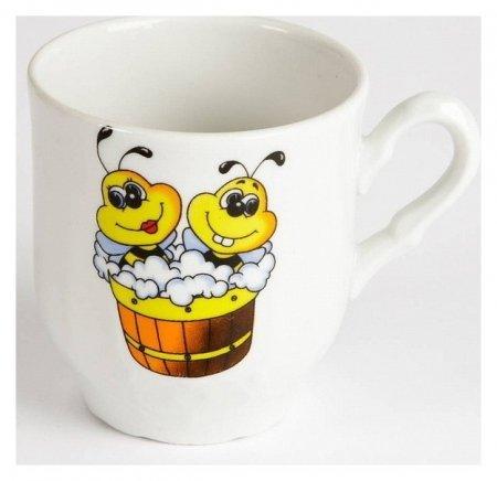 Кружка Пчелы  Добрушский фарфоровый завод
