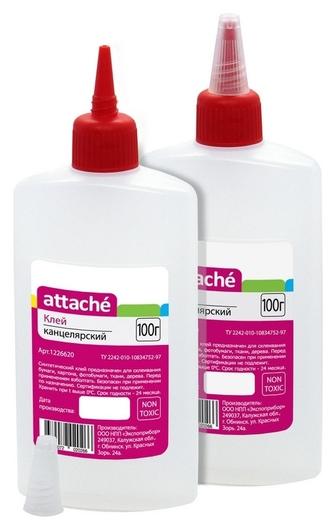 Клей канцелярский синтетический Attache 100 мл  Attache