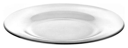 Тарелка обеденная Invitation прозрачная 26см (10328slb)  Pasabahce