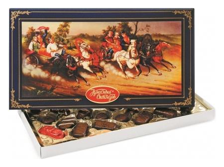 Набор конфет русь_тройка_1/350  Красный октябрь