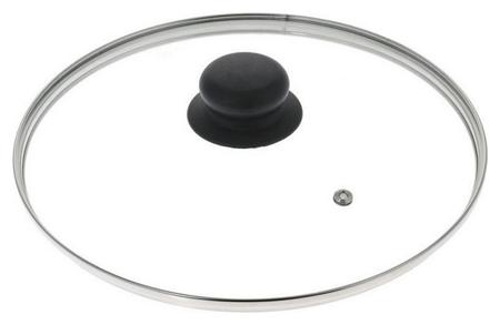 Крышка стеклянная Hitt 28 см (Hg-28)  Hitt