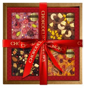 Подарочный набор красочные эмоции, 300 г, в коробке  Chokodelika