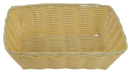 Корзина для хлеба плетеная прямоугольная 23х15х6,5см ПП Gastrorag