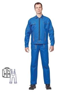Спец.одежда летняя костюм мужской л06-кпк вас. (Р.44-46) 182-188