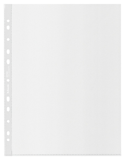 Файл-вкладыш с перфор Esselte Recycled 70мкм с тисн А4+ Maxi 100шт/уп627494  Esselte