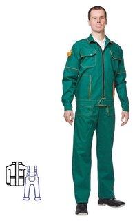 Спец.одежда летняя костюм мужской л06-кпк зел. (Р.60-62) 170-176