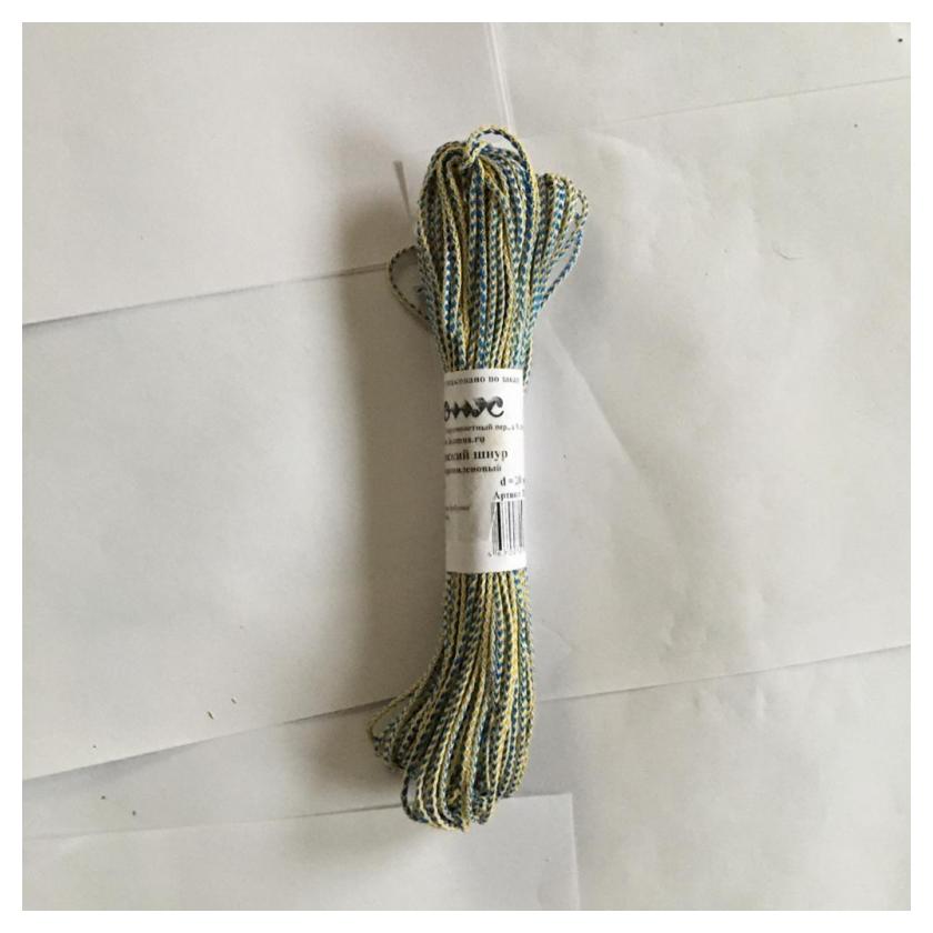 Шнур плетеный 2мм 30м  NNB