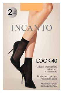 Носки из микрофибры Incanto Look 40 Naturel,u/a  Incanto