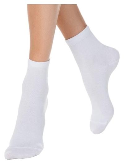 Носки женские. цвет: белый. размер: 23 размер. 1 пара  NNB
