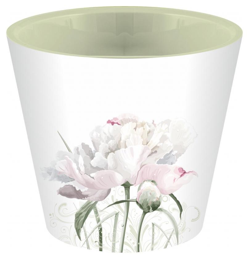 Горшок для цветов London D 160 мм, 1,6 л садовый пион арт.ing6204сп  InGreen