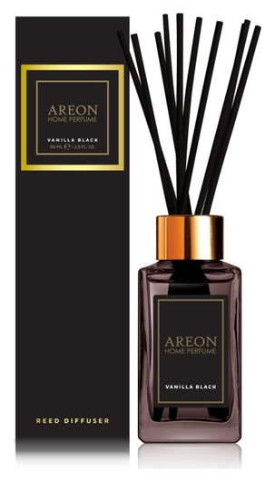Аромадиффузор Areon Sticks Premium 85 Ml. ванила блэк  AREON