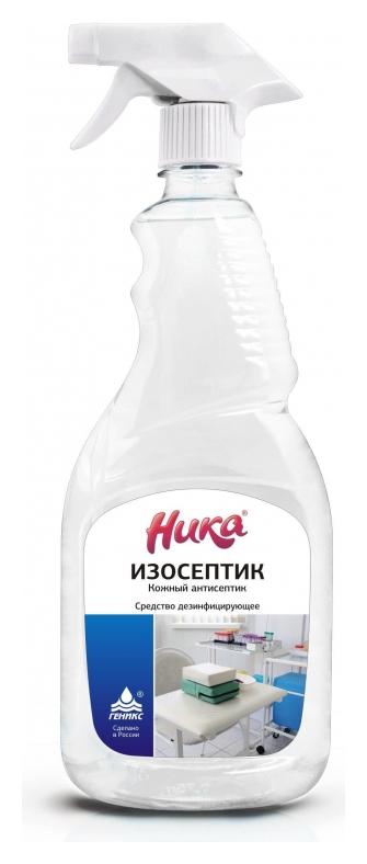 Профхим антисептик кожный для дезинф рук (Спирт 65%) ника/изосептик, 0,5л_т/р  Ника