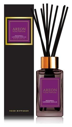 Аромадиффузор Areon Sticks Premium 85 Ml. патчоули-лаванда-ваниль  AREON