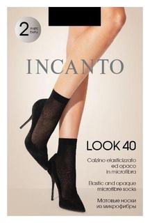 Носки из микрофибры Incanto Look 40 Nero,u/a  Incanto