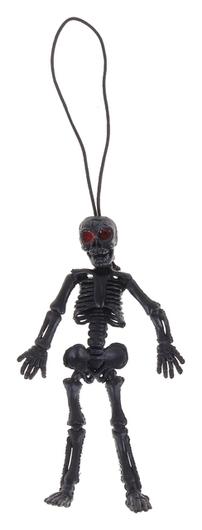 Подвеска «Скелет», цвет чёрный Страна Карнавалия